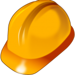 Hard hat for construction